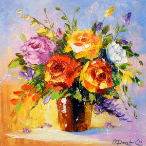 Bouquet of roses  by Olha Darchuk