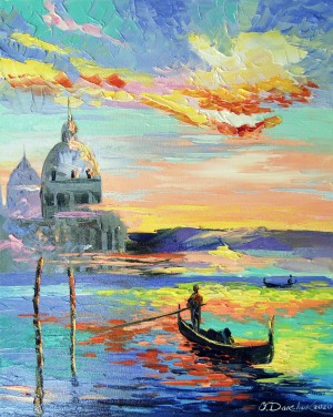 Venice and gondolas by Olha Darchuk