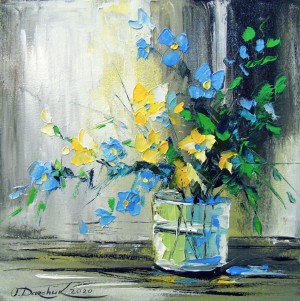 Bouquet of flowers from the garden by Olha Darchuk