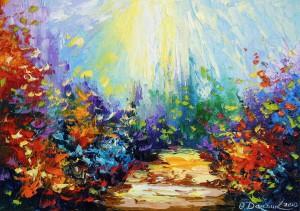 Sunny road  by Olha Darchuk