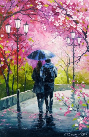Spring walk in the Park by Olha Darchuk