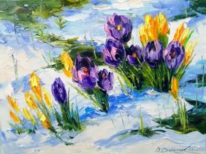 Snowdrops by Olha Darchuk