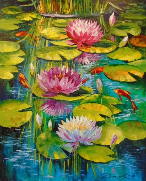 Charming pond by Olha Darchuk