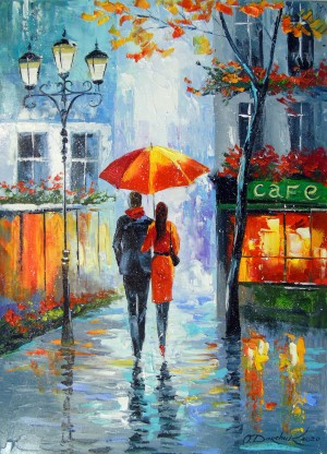 Romantic walk around the city by Olha Darchuk