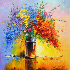 Bouquet of wild flowers by Olha Darchuk
