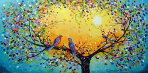 Love melody by Olha Darchuk