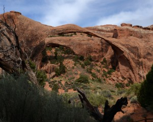 Landscape Arch by Pamela Peters