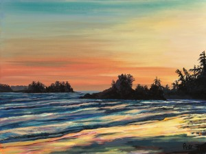 Tofino Sunset by Peter Van Giesen