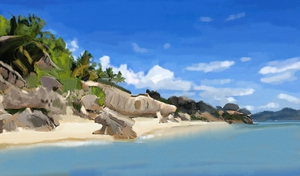 Dream Island by Pia Justine Cruz