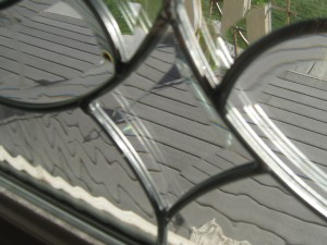 Beveled Glass Detail by Pirate Art Dept  Inc
