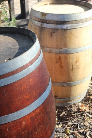 Wine Barrels 01 by Pirate Art Dept  Inc