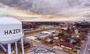 Hazen, AR | Hazen Watertower by Provision UAS