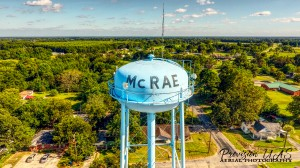 McRae, AR | Water Tower by Provision UAS