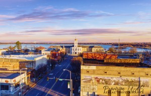 Pine Bluff,  AR | Downtown by Provision UAS