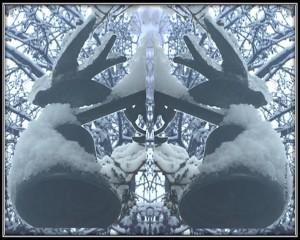 Winter Gateway by R L  Murphy