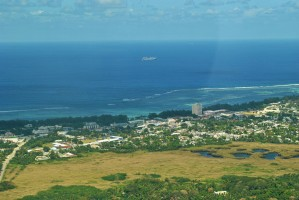Aerial View Saipan by On da Raks