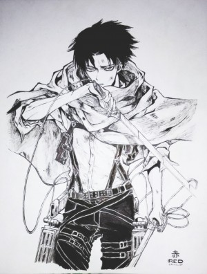 Levi Ackerman Red Cainglet