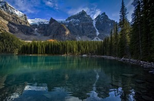 Moraine Lake  by Robert R  Grove