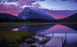 Welcome to Banff  by Robert R  Grove