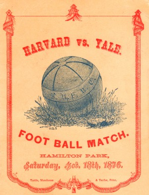 1876 Harvard vs. Yale by Row One Brand