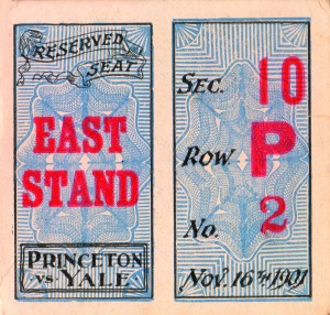 1901 Princeton vs. Yale by Row One Brand