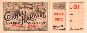 1909 Cornell vs. Harvard by Row One Brand