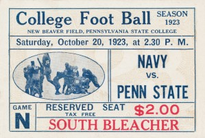 1923 Navy vs. Penn State by Row One Brand