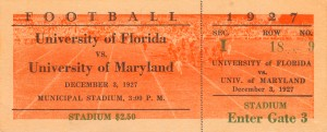 1927 Maryland vs. Florida by Row One Brand