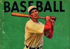 1934 Vintage Baseball Art by Row One Brand