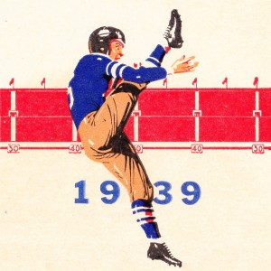 1939 Vintage Football Punter  by Row One Brand