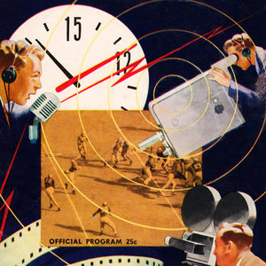 1948 Football Media Art by Row One Brand