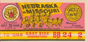 1949 Missouri vs. Nebraska by Row One Brand