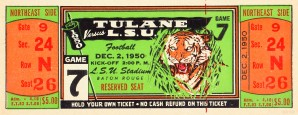 1950_College_Football_Tulane vs. LSU_Tiger Stadium_Baton Rouge_Row One Brand by Row One Brand