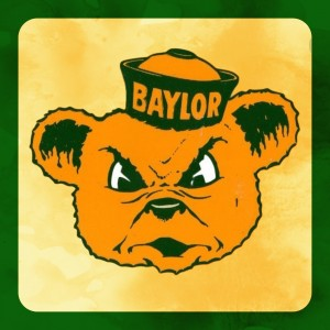 1950s_Baylor Bears_Vintage College Mascots by Row One Brand