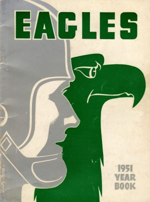 1951_National Football League_Philadelphia Eagles_Row One Brand Program by Row One Brand