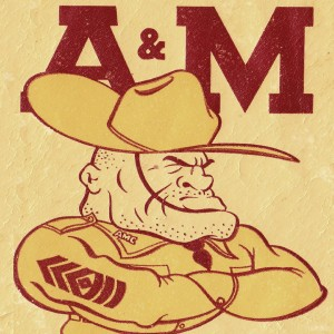 Vintage Ol Sarge 1951 Texas A&M by Row One Brand