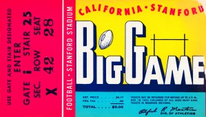 1953 Cal vs. Stanford by Row One Brand