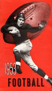 1953 Football Art by Row One Brand