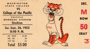 1953_College_Football_Washington State vs. Pacific_Memorial Stadium_Stockton_Row One Brand by Row One Brand