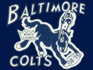 1959_National Football League_Baltimore Colts_World Champions_Row One by Row One Brand