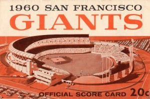 1960 San Francisco Giants by Row One Brand
