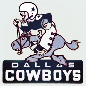1960s dallas cowboys art by Row One Brand