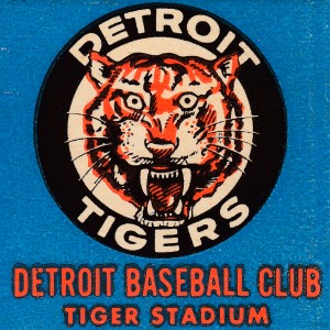 1963 Detroit Tigers Art Reproduction by Row One Brand