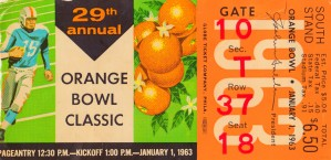 1963_College_Football_Orange_Bowl_Oklahoma vs. Alabama_Miami_Row One Brand by Row One Brand