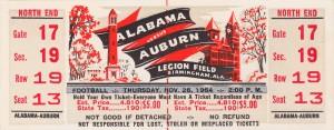 1964 Alabama vs. Auburn by Row One Brand