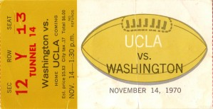1970_College_Football_Washington vs. UCLA_Seattle_Row One Brand by Row One Brand