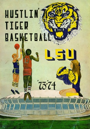 1973 Hustlin Tiger Basketball by Row One Brand