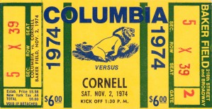 1974 Cornell vs. Columbia by Row One Brand
