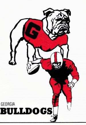 1976 Georgia Bulldogs by Row One Brand
