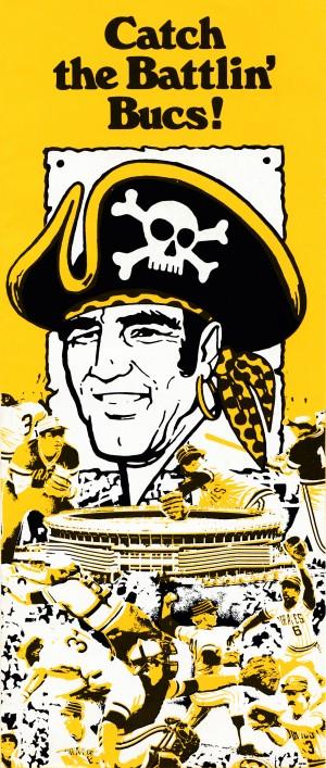 1977 Pittsburgh Pirates Battlin Bucs by Row One Brand